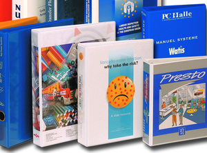Printed binders